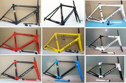 Wholesale colnago road bikes frame - 2018 Colnago c60 Carbon Road bike Frame full carbon fiber bicycle frameset carbon bike frame 16 different color