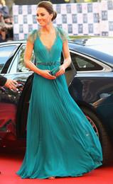 Kate Middleton à Jenny Packham pure dentelle robes de soirée en mousseline de soie avec cape robes de soirée robes de moquette rouge Celebrity HY4127 ? partir de fabricateur