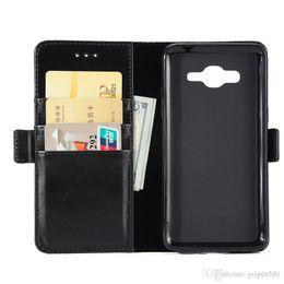 2019 billetera tarjeta de crédito soporte cuero Funda de cuero con soporte de tarjeta de crédito de la pu Tpu cubierta trasera suave para SAMSUNG GALAXY A3 A5 J1 ACE J2 J310 J510 billetera tarjeta de crédito soporte cuero baratos