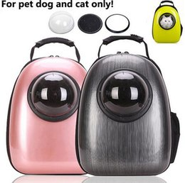 Wholesale Pet Dog Gates - Space Capsule Shaped Pet Carrier Breathable backpack for dog cat outside Travel portable bag pet products accessories