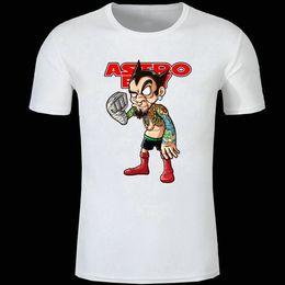 Wholesale Tattoo Print Shirts - Tattoo ruffian astroboy t shirt Tetsuwan atom short sleeve gown Cool street tees Unisex clothing Quality modal Tshirt