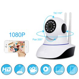 Wholesale Wifi Baby Monitor Night - SEMEE 1080P IP Camera Wireless Home Security Surveillance Wifi Night Vision CCTV Camera Baby Monitor 1920*1080 have TF card 8G.