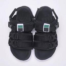red leather booties 2018 - Beach LEADCAT YLM HAN asphalt Slides Sakura Slippers Fashion Striped Sandal Non-Slip Summer Slipper Flip Flops Beach Sandal Free Shipping