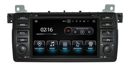 Wholesale Bmw Touch Screen Car Radio - Android 7.1 Car DVD Player for BMW 3 Series E46 M3 with GPS Navigation Radio BT USB SD AUX WIFI Video Stereo