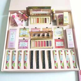 paleta completa Desconto Livre DHL Presente de Natal Da Marca Tutti Frutti Maquiagem Bundle Set Coleção Abacaxi Sombra Paleta Completa Grande Rosto e Lábio Cosméticos Kits