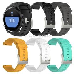 2019 accesorios reloj de pulsera Pulsera de silicona para pulsera de muñeca con correa de reloj de repuesto para Suunto 9 y muñeca Suunto Spartan Sport HR Baro Smartwatch accesorios reloj de pulsera baratos
