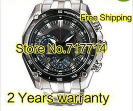 Relógio de swing on-line-Atacado-marca de quartzo EF-550RBSP-1AV EF-550RBSP-1A função de relógio dos homens Swing Função EF 550 R B S P 550 homens relógios de luxo