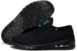 Wholesale Maxs Shoes - Hot Sale SB Stefan Janoski Maxs Running Shoes Men And Women Fashion Konston Lightweight Skateboard Athletic Sneakers Maxes Size 36-45