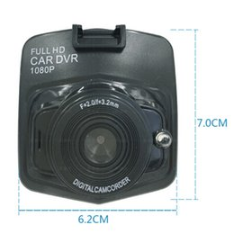 2019 câmera de vídeo h2 Novo mini auto carro dvr câmera dvrs full hd 1080 p gravador de estacionamento gravador de vídeo camcorder night vision caixa preta traço cam 2018 DHL livre
