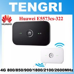 Wholesale Huawei Hotspot Wifi - 2018 Unlocked Huawei E5573 E5573cs-322 CAT4 150Mbps 4G LTE FDD Wireless Router 3G Mobile WiFi Hotspot