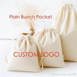 Plain draw string taschen online-einfaches Segeltuch Bündel Tasche leere Baumwolle Sportbeutel DIY Zugschnurbeutel-Freizeitbeutel kann Ihren Entwurfsgroßverkauf freies DHL kundenspezifisch anfertigen.