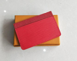 Wholesale Red Wallet Bags - AAA High Quality Card Holders Wallets For Men women Designer Bifold Money Purse Clutch Bags Traver Wallet with gift box