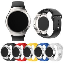 2019 bandas de relógio de silicone atacado Fabuloso pulseira de relógio de silicone de luxo para samsung galaxy gear s2 sm-r720 smart watch atacado no25 bandas de relógio de silicone atacado barato