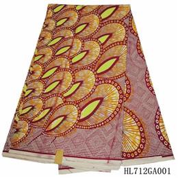 Wholesale Ankara Dresses - wholesale Best quality!Ankara fabric Women&men dresses ,veritable african printed fabric 100% cotton Nigeria wax HL712GA001