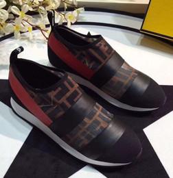 2019 scarpe da corsa in pelle NUOVE scarpe da corsa all'ingrosso di alta qualità CALDO Uomo casual Donna Patchwork moda Colori misti Cuoio economici scarpe da tennis sneaker scarpe da corsa in pelle economici