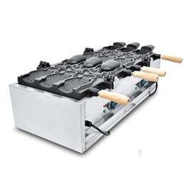 Canada Machine de Taiyaki de crème glacée de rendement élevé / fabricant de gaufre de Taiyaki / grand prix de machine de moule de gâteau formé par poissons Offre