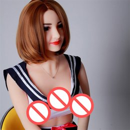 Wholesale Japanese Real Sex Voice - 165cm Japanese Real Love Dolls Adult Male Sex Toys Full Silicone Sex Doll Sweet Voice Realistic Sex Dolls Hot Sale