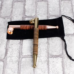 Wholesale Wholesale Copper Pipe Smoke - Copper alloy pipe pipe rod creative small smoke smoking spot wholesale