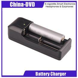 balance numérique chargeur rc Promotion Dual Slots Universal Chargeur 18650 18350 26650 Chargeur EU US adaptateur 3.7 v ePacket Livraison Gratuite