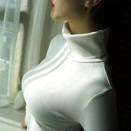 Canada Pull Femme Doux Style Coréen Skinny Hiver Col Roulé Femmes Bodycon Basic Pulls À Manches Longues Pull Femme Manteau Femelle Top FS5770 cheap top women winter sweater styles Offre