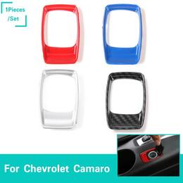 Isqueiros para automóveis on-line-Charuto Isqueiro Decorativo Guarnição para Chevrolet Camaro 2017 + Car Styling Acessórios Interiores ABS 4 Cores 1 peça