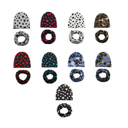 Wholesale New Star Hair - New Hair Accessories Baby Children Hat Collar Scarf Star Knitting Headbands Cotton Nine Colors Wholesale Free Shipping