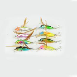 Ganchos de insectos online-Mini señuelos de simulación de insectos Cebos para la pesca deportiva Pesca Creative Fake Tackle Diseño de formas especiales Anzuelos de pesca Super Light 2 2hr ZZ