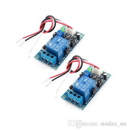 Wholesale Power States - Sindax 2Pcs DC 12V 1 Channel Power OFF Time Delay Relay PCB Circuit Module with Cable for Car SRD-12VDC-SL-C JST-XH