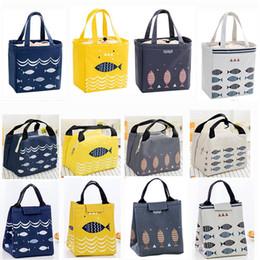 Mittagessen Taschen Frische Lunchbox Tasche Isolierung Kalten Ballen Thermische Oxford Mittagessen Tasche Für Kinder Wasserdichte Bequem Freizeit Tasche Gepäck & Taschen
