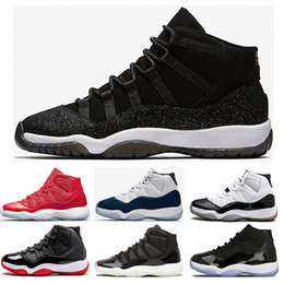 Wholesale Basket Shoes - (with box ) 11 PRM Heiress Black Stingray Men Women Basketball Shoes Gym Red Chicago Midnight Navy WIN LIKE 82 96 sports shoes Sneakers
