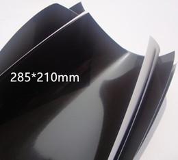 Laser de 285 * 210 mm de detección láser láser de papel de papel que muestra el doble cara de papel negro para longitud de onda 1064nm desde fabricantes