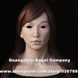 2019 máscara facial de silicona [SF-N16] máscaras de silicona femeninas, mascarilla completa, máscaras de fiesta máscara facial de silicona baratos