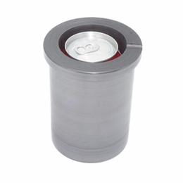 Raccordo di fusione online-Muffa in grafite crogiolo in fusione di metallo argento dorato con fusione di lingottiera (5kg - adatta una lattina di coca cola)