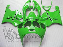 2020 99 ninja zx7r 3Gifts Carenagens Para KAWASAKI NINJA ZX7R 1996 - 2003 ANO Verde ZX7R 636 96 97 98 99 00 01 02 03 kits de carenagem desconto 99 ninja zx7r