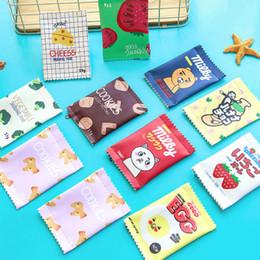 borse all'ingrosso delle bambine Sconti Portamonete per bambini Portafogli Portamonete Bambino Cartoon Mini Portafoglio creativo Spuntino Divertente Portamonete Borsa portamonete a forma di caramella