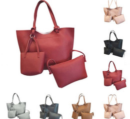 Wholesale Wholesale Designers Shoes - Europe and the United States designer shoes tote handbags large capacity famous brand purse high quality bolsas feminina wallet 3PCS   Set