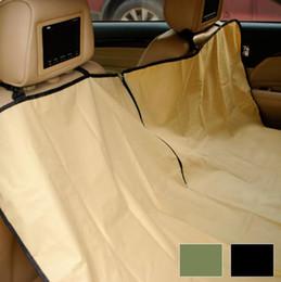 Wholesale pet seat protector - Waterproof Pet Dog Car Seat Covers Hammock Car Rear Cushion Oxford Fabric Pet Supplies Protector Mat 145*130cm NNA337