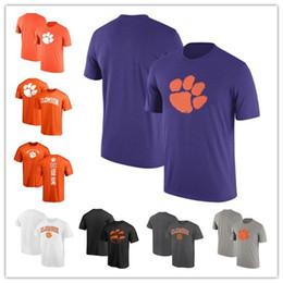 designer fashion a33ba a16a6 Mens Clemson Tigers Fanatics Branded Campus Football Personalized Backer  Legend Performance T-Shirt size S-XXXL free shipping