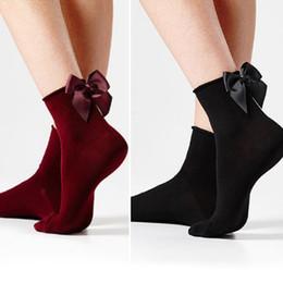 af98fb7e2 New Fashion Lovely Creative Women Bling Bow Ankle Socks Sliver Silk Gold  Glitter Socks Nylon Female Retro Cute Butterfly