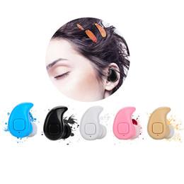 mini fone ouvido bluetooth Rebajas S530X Mini Auricular Estéreo Bluetooth Inalámbrico con Micrófono Fone De Ouvido Manos Libres Universal para iPhone 6 Samsung Auriculares