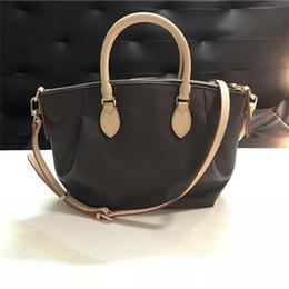 buenos bolsos de diseño Rebajas ¡Envío gratis! Fashion Nice Leather Brand Lady Handbag 36 cm Mujer Diseñador Bolso bandolera Messenger Cross Body Bag