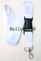 Wholesale led name lights - Breakaway phone Lanyard for ID Name Badge Holder,keychainBrand clothing white