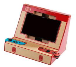 spielkartenabdeckung Rabatt DIY Schalter Fall für Labo Spielzeug Faltbare Ständer Halterung Karton Halter Arcade für NS Schalter frei DHL.