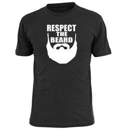 Sommer-Trend Rundhalsausschnitt Retro-Kleidung lose halbe Hülse Männer gedruckt Bart Muster T-Shirt von Fabrikanten