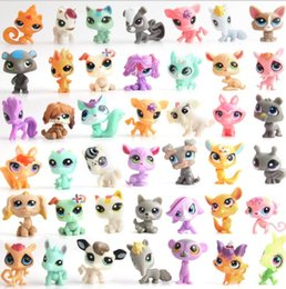 Wholesale Popular Children Toys - Pond plastic doll popular cartoon kawaii cute little bear rabbit doll cute little Animal Model Kids Children Toy randomly design KKA5017