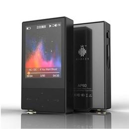 Nova Hidizs AP60 II (+ fone de ouvido EP3 + estojo de couro presente) HiFi lossless Jogador metal corpo HD Tela Bluetooth 4.0 Apt-x DSD FLAC MP3 cheap mp3 player metal body de Fornecedores de leitor de mp3 corpo de metal