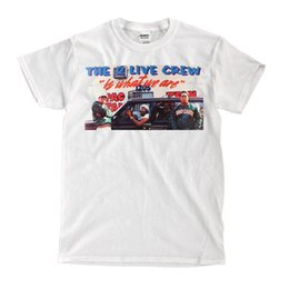The 2 Live Crew Band - Camiseta blanca - RIP Fresh Men T Shirt Ropa de hombre Plus Size Top Tee Algodón Cool Design 3D Tshirt desde fabricantes