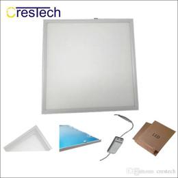 lampade da cucina Sconti Luci di pannello a LED AC85-265V luci per interni In alluminio ultra sottile led wc casa luce LED pannello di illuminazione