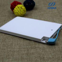 Mover la tarjeta Fuente de alimentación Polímero ultrafino Carga portátil Tipo de tarjeta de visita preciosa 20000 Milliampere Logo Regalo personalizado -5 desde fabricantes