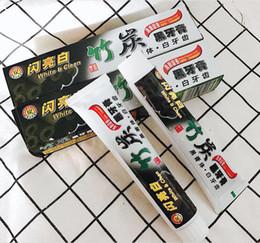 Al por mayor carbón de bambú activado online-Bienvenido a la venta al por mayor ~ Pasta de dientes Carbón de bambú Pasta de dientes Carbón activado Pasta de dientes negra Blanqueamiento de adultos Envío gratuito